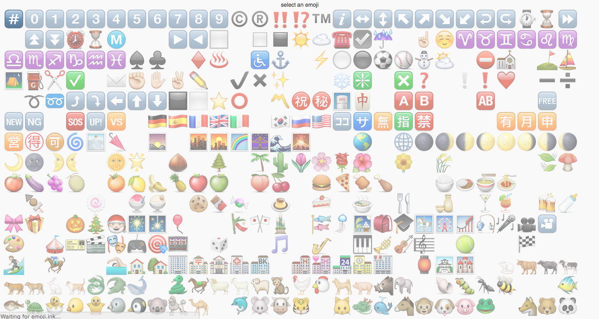 Emoji shapes emoji world for Emoji ink