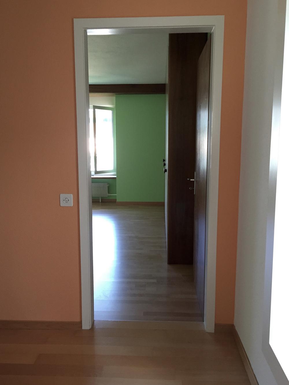 Einfamilienhaus in zug hohl und fry farbgestalter gmbh for Einfamilienhaus innen